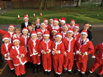 "The David Ross Education Trust holds its annual ""Santa Run"" to raise money for Inspiration Fund"