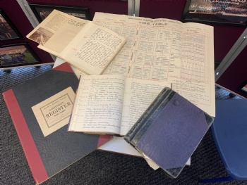Headteacher discovers lost diaries of former headteachers from 1910-1998